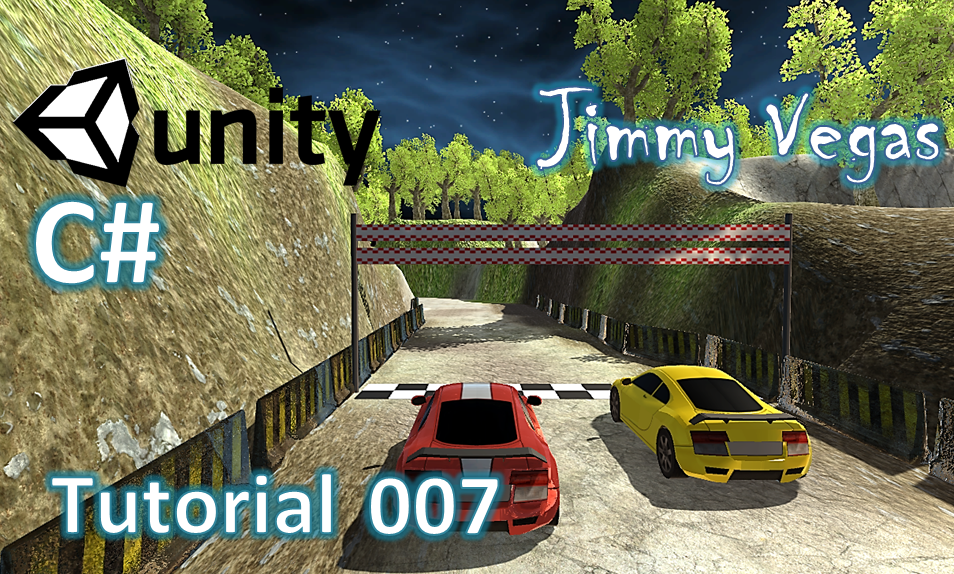 How To Make A Driving Racing Game In Unity - Part 007 - AI