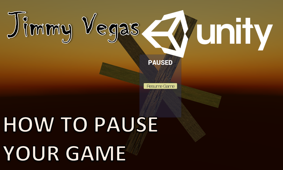 Unity Mini Tutorial - How To Pause The Game And Create A