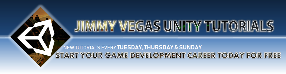 Jimmy Vegas Unity Tutorials